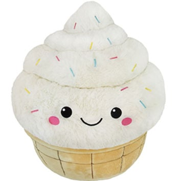 Squishable Soft Serve Ice Cream: An Adorable Fuzzy Plush to Snurfle and Squeeze!