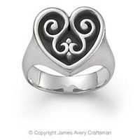 French Heart Ring from James Avery
