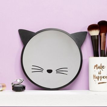 Sass & Belle Black Cat Mirror at asos.com