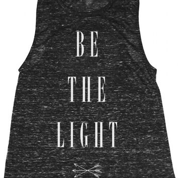 Black Be the Light  Muscle Tee