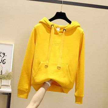 2019 new sweatshirt skateboard hoodie pop hoodies sweatshirt women men v hooded women men stripes solid streetwear