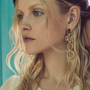 Snake Drop Earrings – For Love & Lemons