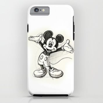 Mickey Mouse iPhone & iPod Case by Herself | Society6