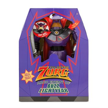 Disney Parks Toy Story Deluxe Zurg Talking Light Up Toy New with Box