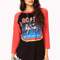We Salute You Baseball Tee