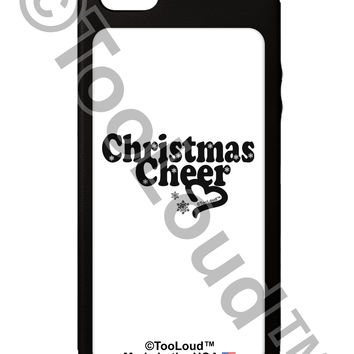 Christmas Cheer BnW iPhone 5C Grip Case