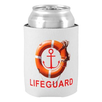 Lifeguard Can Cooler