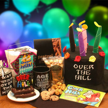An Over The Hill 50 Years Birthday Gift Set