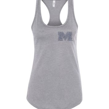 Official NCAA University of Mississippi Rebels Ole Miss Hotty Toddy Next Level Racerback Tank - 67LOLM
