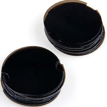 GOOD 10 X Jewelry Rings Black Plastic Stand Display Showcase 38mm AU CB