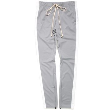 Track Pants Grey / White