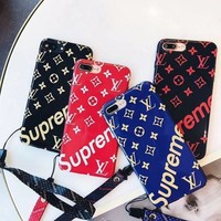LV Louis Vuitton Print iPhone Phone Cover Case For iphone 6 6s 6plus 6s-plus 7 7plus