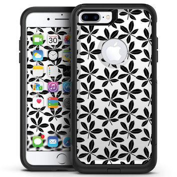 Slate Black 5 Leaf Clovers - iPhone 7 or 7 Plus Commuter Case Sk 0996a232b