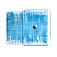 The Water Color Ice Window Skin Set for the Apple iPad Air 2