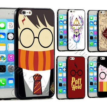 Harry Potter Case For iphone 5/5s/5se 6/6s 7 6/7 plus 6s plus TPUPC Train Ticket Map Case Phone Cover for Ipod Touch 5th Case