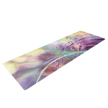 "Sylvia Cook ""Pretty Grasses"" Yoga Mat"
