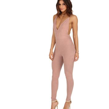 Mauve Jump Start Jumpsuit