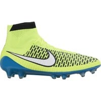 Nike Women's Magista Obra FG Soccer Cleats - Volt/Blue | DICK'S Sporting Goods