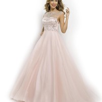 Blush Prom Ball Gown 5335