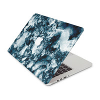 Black and White Swirling Smoke Skin for the Apple MacBook