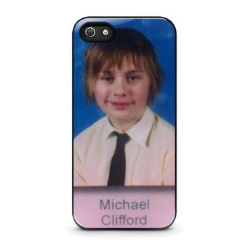 5SOS MICHAEL CLIFFORD iPhone 5 / 5S / SE Case Cover
