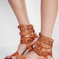 Free People Duvall Cage Sandal