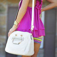 Rodeo Drive Purse: White | Hope's