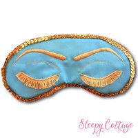 Breakfast at Tiffany's Sleep Mask Audrey Hepburn