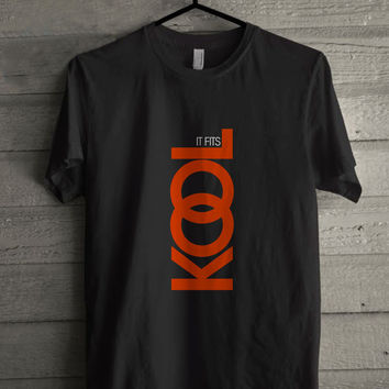 Kool It Fits Cigarettes Black T-shirt Size S-5XL