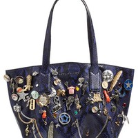 MARC JACOBS 'Wingman' Embellished Leather Shopping Tote | Nordstrom