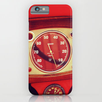 Retro Dashboard iPhone & iPod Case by Nazar N.