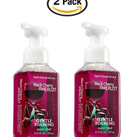 Bath and Body Works Black Cherry Merlot Gentle Foaming Hand Soap 8.75oz. Pack of 2