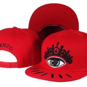 KENZO Women Men Embroidery Sports Sun Hat Hip Hop Baseball Cap Hat