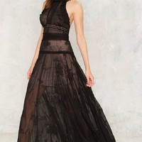 Nasty Gal Got the Flirt Maxi Dress