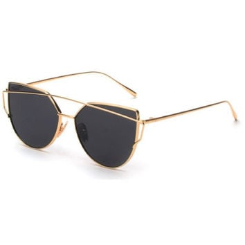 Luxe Sunglasses (black/gold)