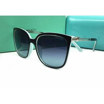 Tiffany Trending Women Men Casual Summer Sun Shades Eyeglasses Glasses Sunglasses Green+Black I
