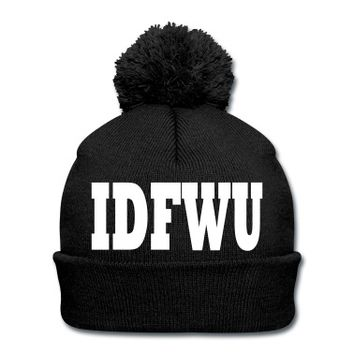 IDFWU BIG SEAN BEANIE KNIT CAP | GIFT IDEA | GIFT GUIDE