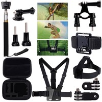 MCOCEAN 7 in 1 Accessories Kit for GoPro Hero 4/ 3+/ 3/ 2/ SJCAM and Xiaomi Yi Camera