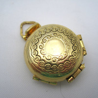 Vintage Locket - Family Album Four Photo Locket