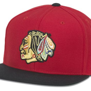 Chicago Blackhawks Tradition Snapback Adjustable Hat By American Needle