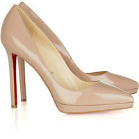 Christian Louboutin pigalle plato 120 patent-leather pumps - $182.00