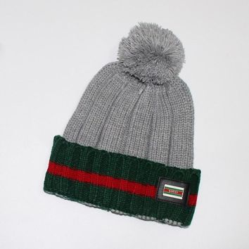 GUCCI Fashion Winter Knit Women Beanies Hat Cap