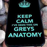 Grey's Anatomy Pattern for iPhone 4/4s, iPhone 5/5S/5C/6, Samsung S3/S4/S5 Unique Case *76*