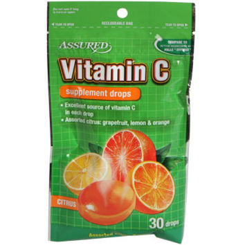 Bulk Assured Vitamin C Supplement Drops, 30-ct. Packs at DollarTree.com