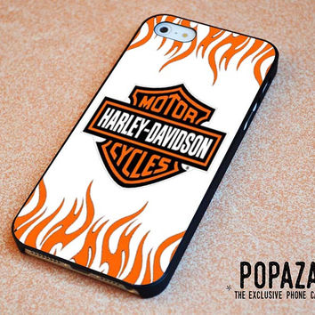 Harley davidson fire iPhone 5 | 5S Case Cover