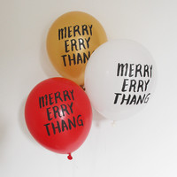 Merry Errythang Party Balloons