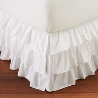 PBteen Ruffle Bed Skirt