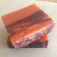 Pumpkin Spice Bar - organic soap, natural soap, handmade soap, pumpkin soap, vegan soap