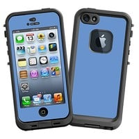 Periwinkle Skin for the LifeProof fre iPhone 5/5S Case by skinzy.com