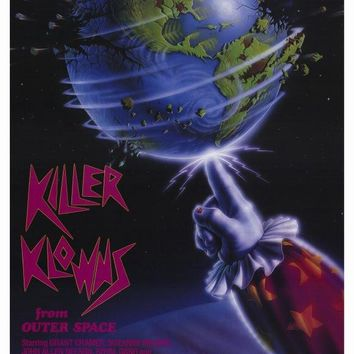 Killer Klowns From Outer Space 27x40 Movie Poster (1988)